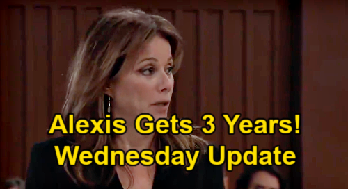 General Hospital Spoilers: Wednesday, March 31 Update – Alexis' Three-Year Prison Sentence – Carly Fights Back