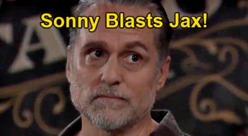 General Hospital Spoilers: Wednesday, September 8 Update – Sonny Blasts Jax – Nikolas Tossed from Gallery – Esme Attacks Trina