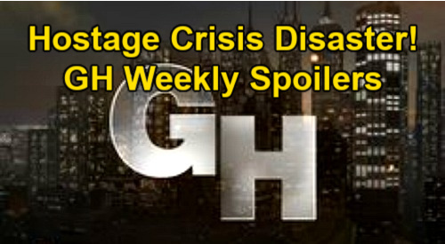 General Hospital Spoilers: Week of April 12 – Sonny's Suspicious – Nik Endangers Carly's Family – Hostage Crisis Disaster