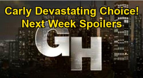 General Hospital Spoilers: Week of January 11 – Carly's Heartbreaking Choice - Jason & Brando War Council – Sasha Confronts Cyrus