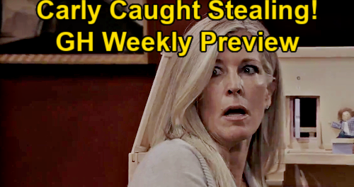 General Hospital Spoilers: Week of January 19 Preview - Carly Caught Stealing Pendant - Olivia Busts Ned – Jason Armed & Ready