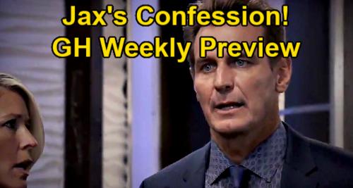 General Hospital Spoilers: Week of January 25 Preview - Jax Confesses To Nina - Peter Puts Franco's Life In Danger