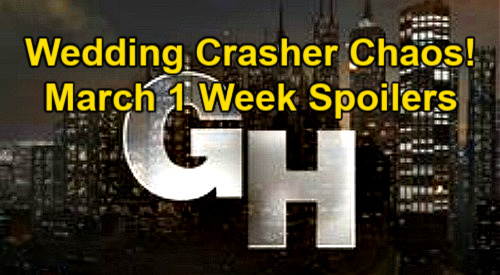 General Hospital Spoilers: Week of March 1 – Wedding Crasher Chaos – Peter's Fury Unleashed – Dante's New Crime Investigation