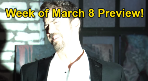 General Hospital Spoilers: Week of March 8 Preview - Peter Held Captive - Valentin Asks Jason Deadly Favor - Maxie Crushed