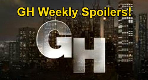General Hospital Spoilers: Week of October 18 – Killer Drew Shock for Sam – Jason & Britt in Greece – Sonny's Spencer Mission