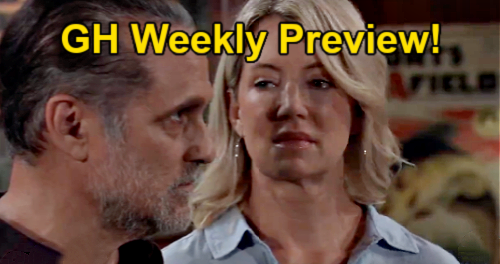 General Hospital Spoilers: Week of September 6 Preview: Sonny's Memory and Heartbreaking Tragedy