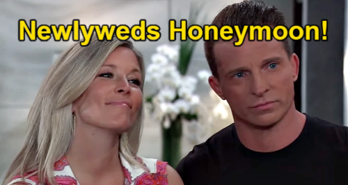 General Hospital Spoilers: Will Jason & Carly Honeymoon in Nixon Falls – Find Sonny as Married Couple?