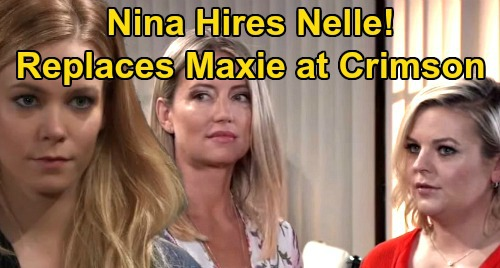 General Hospital Spoilers: Nina Gives Nelle a Job, Maxie's Risky Replacement at Crimson – Stunning New Hire Sparks Outrage