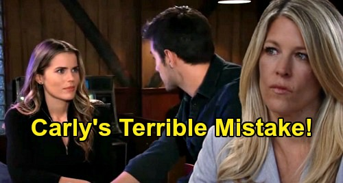 General Hospital Spoilers: Is Carly Wrong for Keeping Sasha's Fake Affair Secret, Letting Michael Marry Willow?