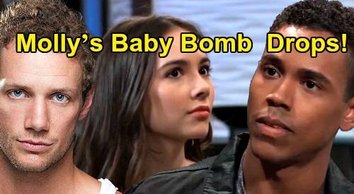 General Hospital News Update: Molly's Baby Bomb Finally Drops, Brando Hookup Haunts – Pregnancy Rocks Port Charles