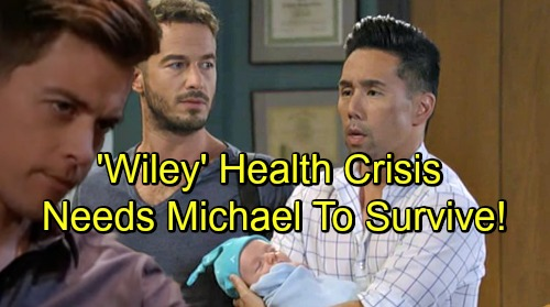 General Hospital Spoilers: 'Wiley' Health Crisis Rocks Brad and Lucas – Baby Needs Daddy Michael's Help to Survive