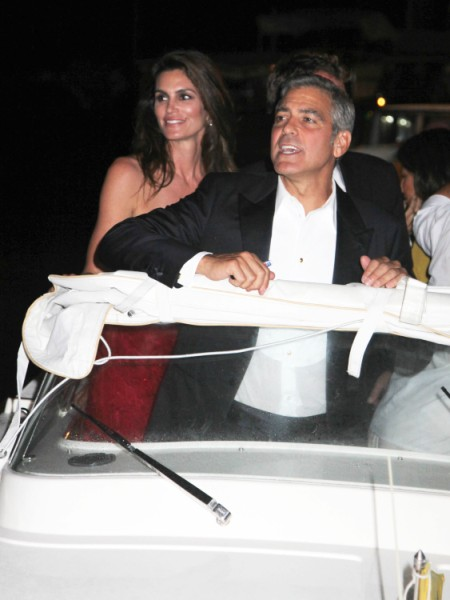 George Clooney, Stacy Keibler Swing With Cindy Crawford And Rande Gerber? 0109