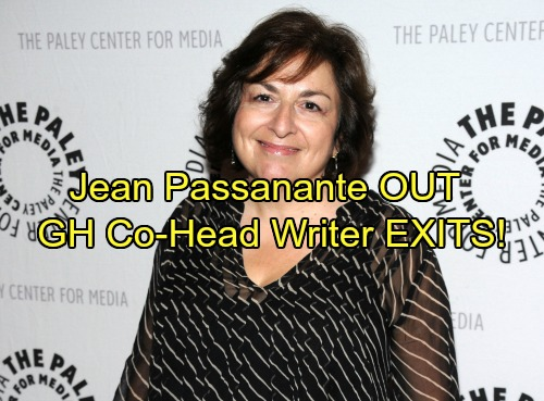 General Hospital Spoilers: Jean Passanante Exits GH - Co-Head Writer Leaves For Retirement