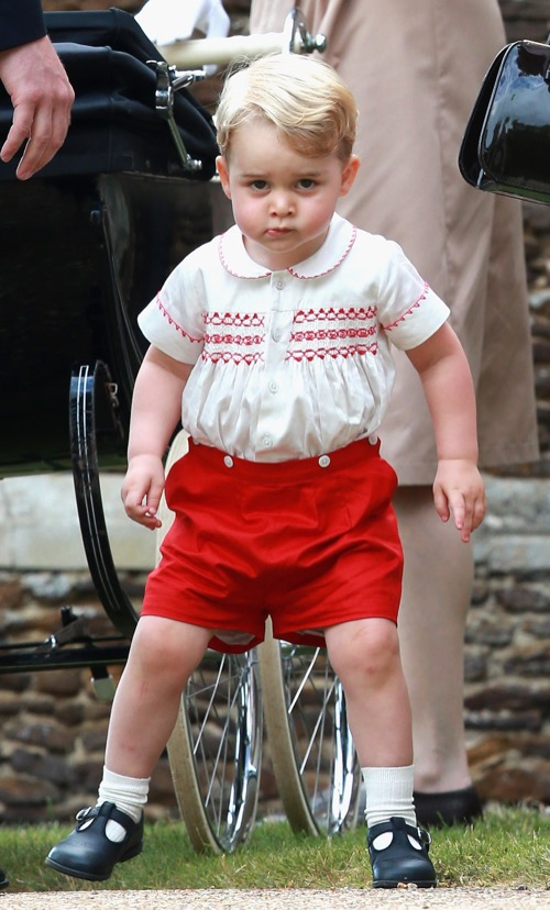 Prince William and Kate Middleton's Parenting Skills Under Attack: Prince George Bad Behaviour During State