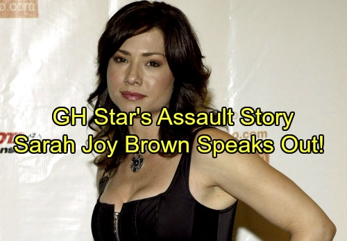 General Hospital Spoilers: GH Star Shares Her Assault Story – Sarah Joy Brown Speaks Out for Change
