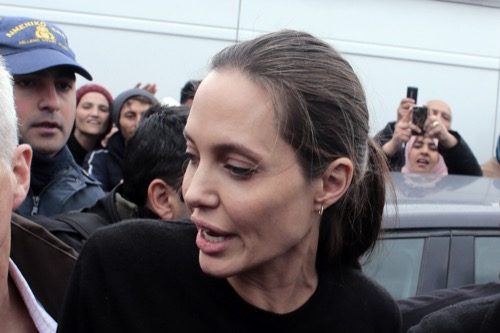 Angelina Jolie Reunites With Estranged Jon Voight: Desperate For Positive PR?
