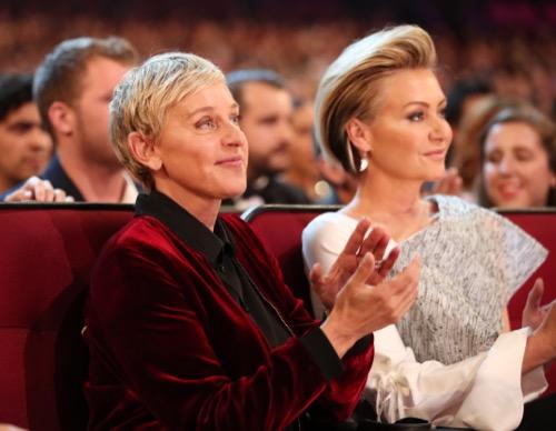 Ellen DeGeneres Says Biggest Role is Being Portia de Rossi's Wife