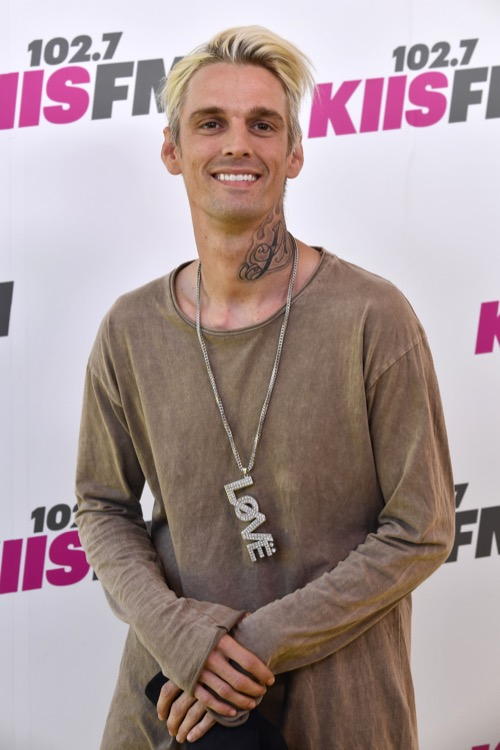 Aaron Carter Plans To Release New Music After Rehab Stint