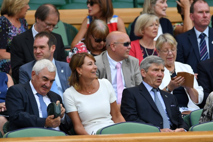 Was Carole Middleton Seated With The Commoners At Wimbledon This Year?