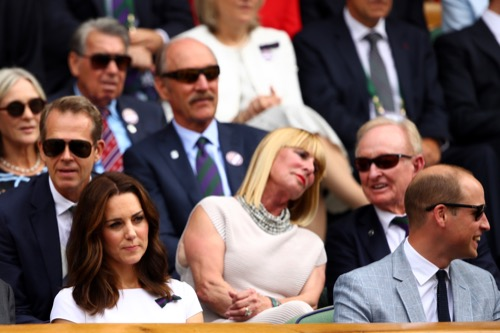 Kate Middleton Ignores Carole and Pippa Middleton at Wimbledon Finale