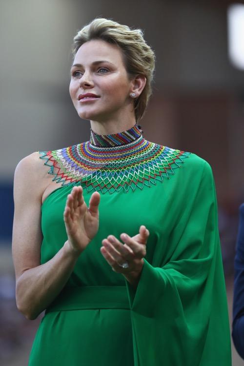 Kate Middleton and Charlene Wittstock