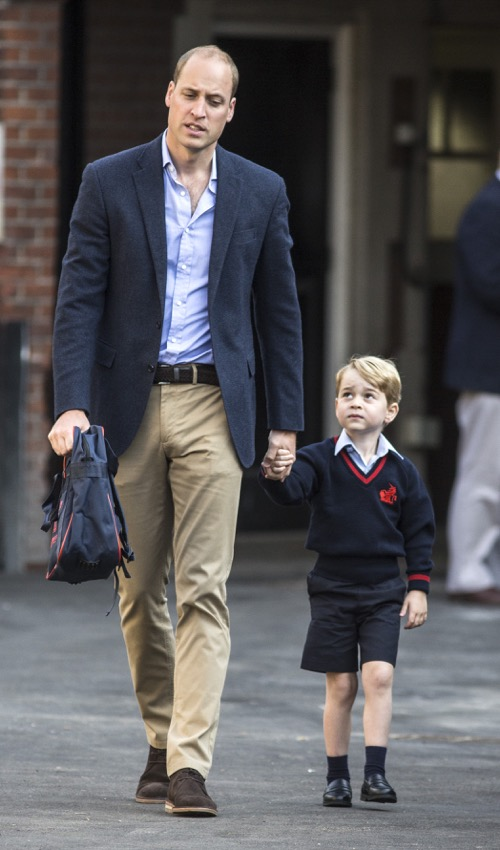 Prince William Is Already Preparing Prince George to Become King