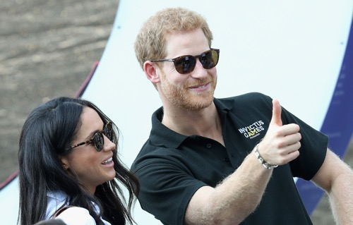Prince Harry and Meghan Markle - November Engagement Announcement