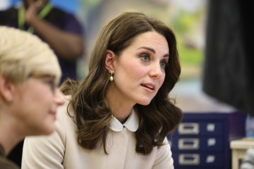 Kate Middleton Says Prince William Struggled with Becoming a Father
