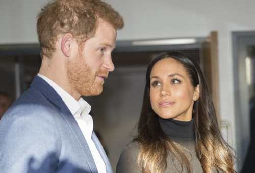 Prince Harry And Meghan Markle Break Royal Protocol During First Joint Engagement
