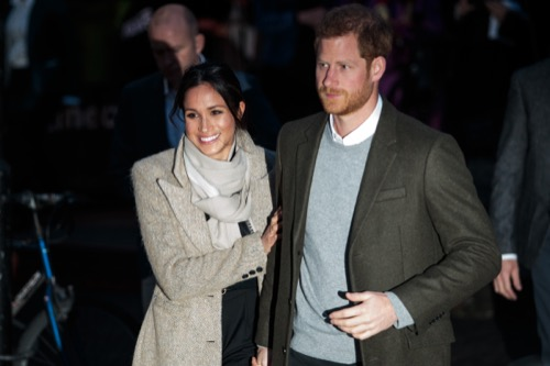 Prince Harry and Meghan Markle Lifetime Movie In The Works