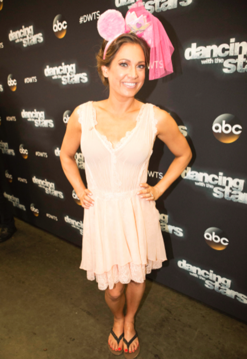 Ginger Zee Dancing With The Stars Argentine Tango Video Season 22 Week 8 – 5/9/16 #DWTS