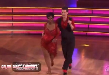 Gladys Knight Dancing With The Stars Cha Cha Cha Performance Video 3/19/12