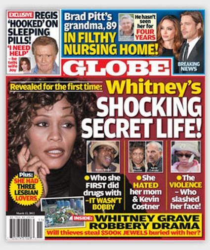 Whitney Houston's Stunning Secrets And 3 Lesbian Affairs (Photo)