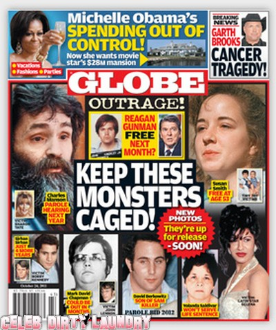 Globe: Murderous Monsters Set for Parole, Keep Them Caged!