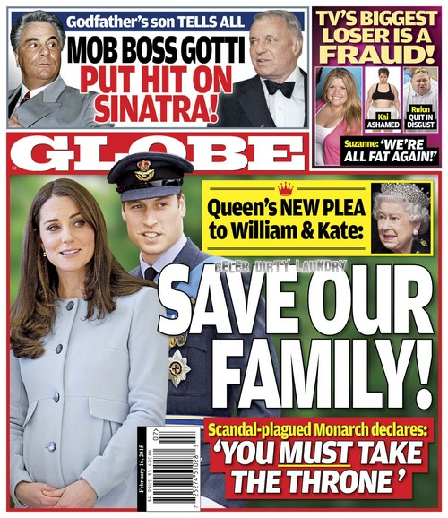 Kate Middleton and Prince William To Be Queen and King: Queen Elizabeth Pleads With Couple To Save Royal Family! (PHOTO)