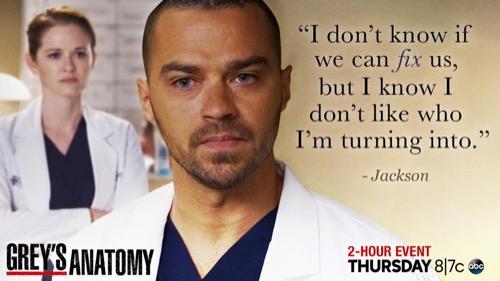 """Grey's Anatomy Recap 4/14/16: Season 12 Episode 18 & 19 """"There's a Fine, Fine Line; It's Alright, Ma"""""""