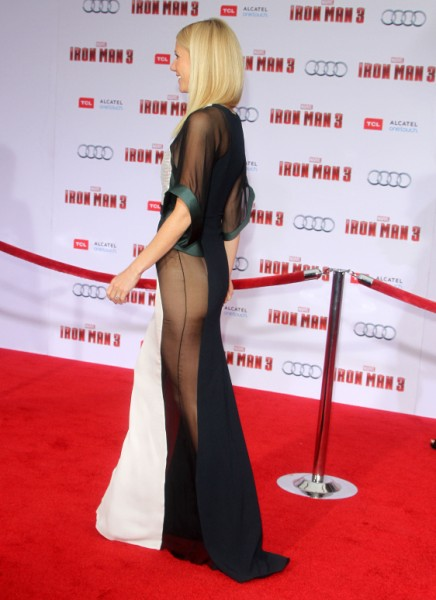 Gwyneth Paltrow Flashes Her Crack But Denies She's Most Beautiful - Do You Believe Her? 0425