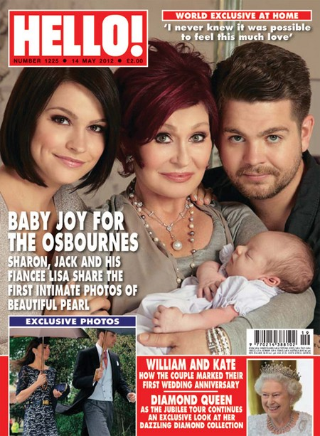 Jack Osbourne Proudly Shows Off His New Baby Girl Pearl
