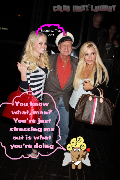 Hef Has Himself A New Girl--That Was Fast!