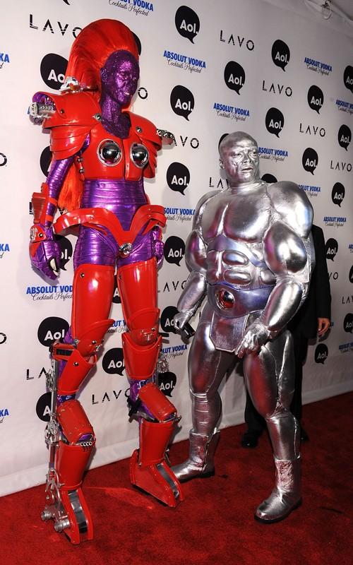 Celebrity sightings On Halloween 2010