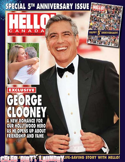 Hello Magazine: First Look At George Clooney's New Girlfriend