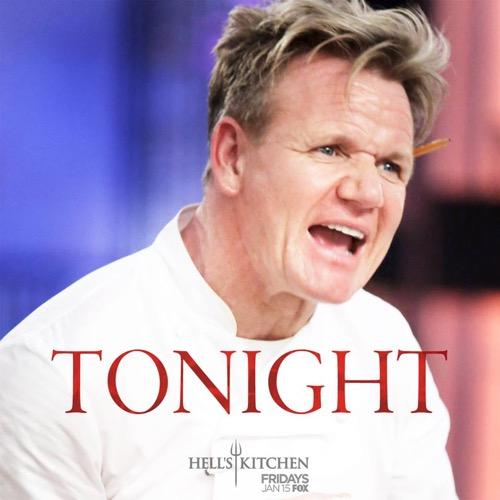 "Hell's Kitchen Recap 1/15/16: Season 15 Episode 1 Premiere ""18 Chefs Compete"""