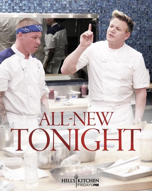 "Hell's Kitchen Recap 12/8/17: Season 17 Episode 9 ""Catch"