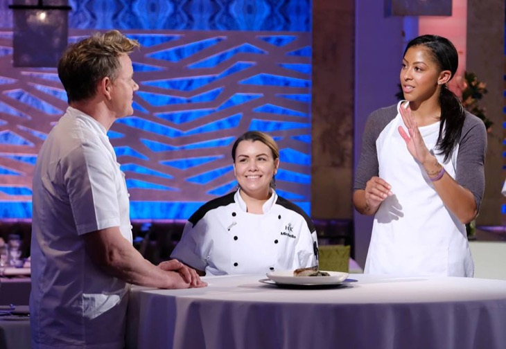Brilliant Hells Kitchen Recap 1 26 18 Season 17 Episode 14 Families Home Interior And Landscaping Ologienasavecom