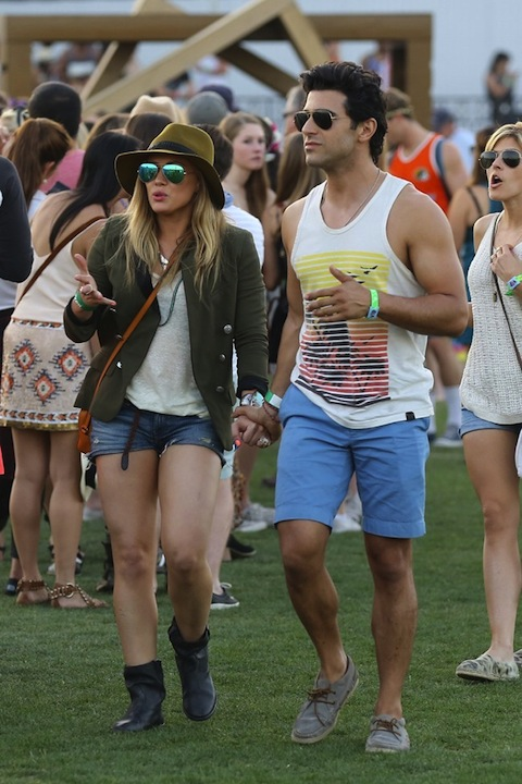 Coachella Fashion Hits and Misses - Hilary Duff, Ashley Benson, Ireland Baldwin (Photos)