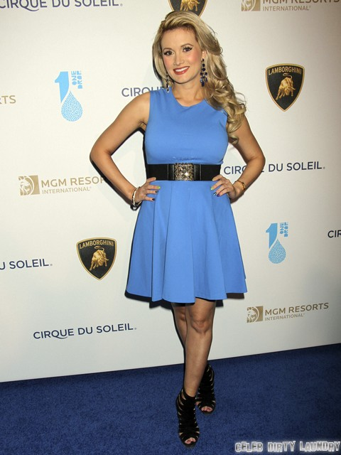 Holly Madison's Post Pregnancy Baby-Weight Loss: Surrogate Mother or Liposuction? (Before & After Photos)
