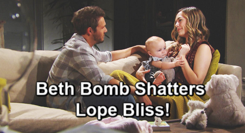 The Bold and the Beautiful Spoilers: Steffy Suffers As Hope and Liam Renew Love – Beth Bomb Shatters Lope Bliss?