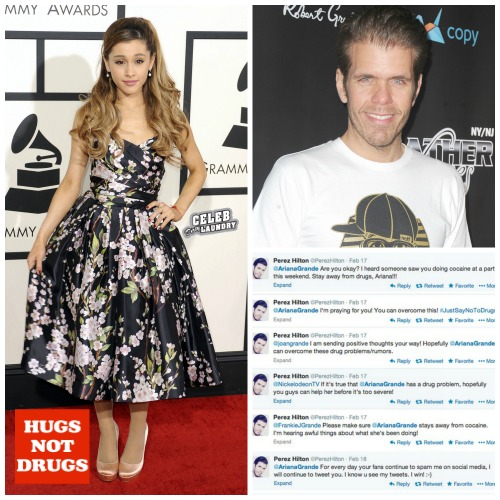 Ariana Grande Cocaine Use at Party Exposed By Perez Hilton