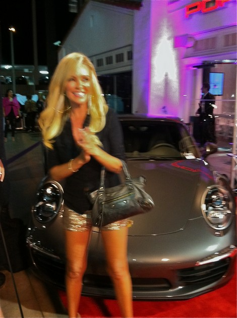 Fashion Night Out Beverly Hills porsche