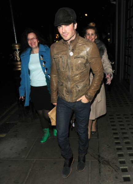 Ian Somerhalder Leaves Club With New Girl, Trying To Make Nina Dobrev Jealous? (PHOTOS) 0523